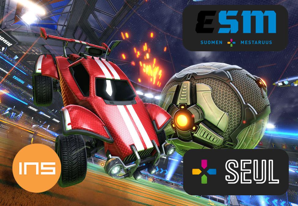 Toisen Rocket League eSM-karsinnan tulokset ja muita meneillään olevia turnauksia