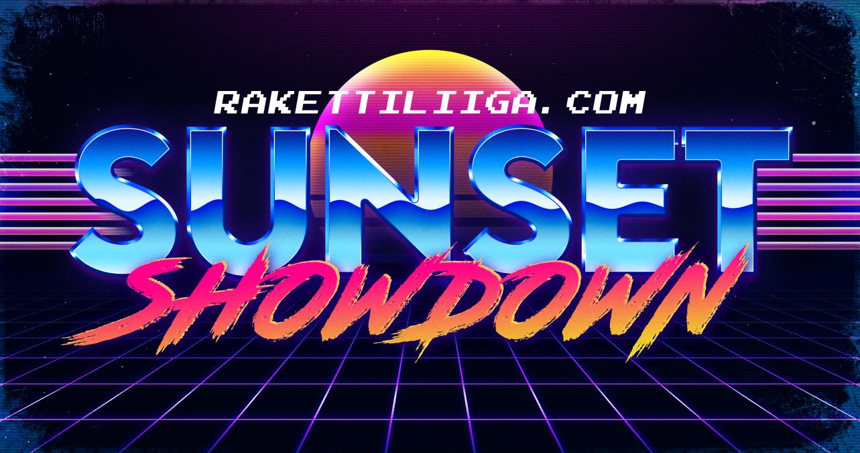 Rakettiliigan kesäturnaussarja Sunset Showdown alkaa 3v3 turnauksella 31.5.!
