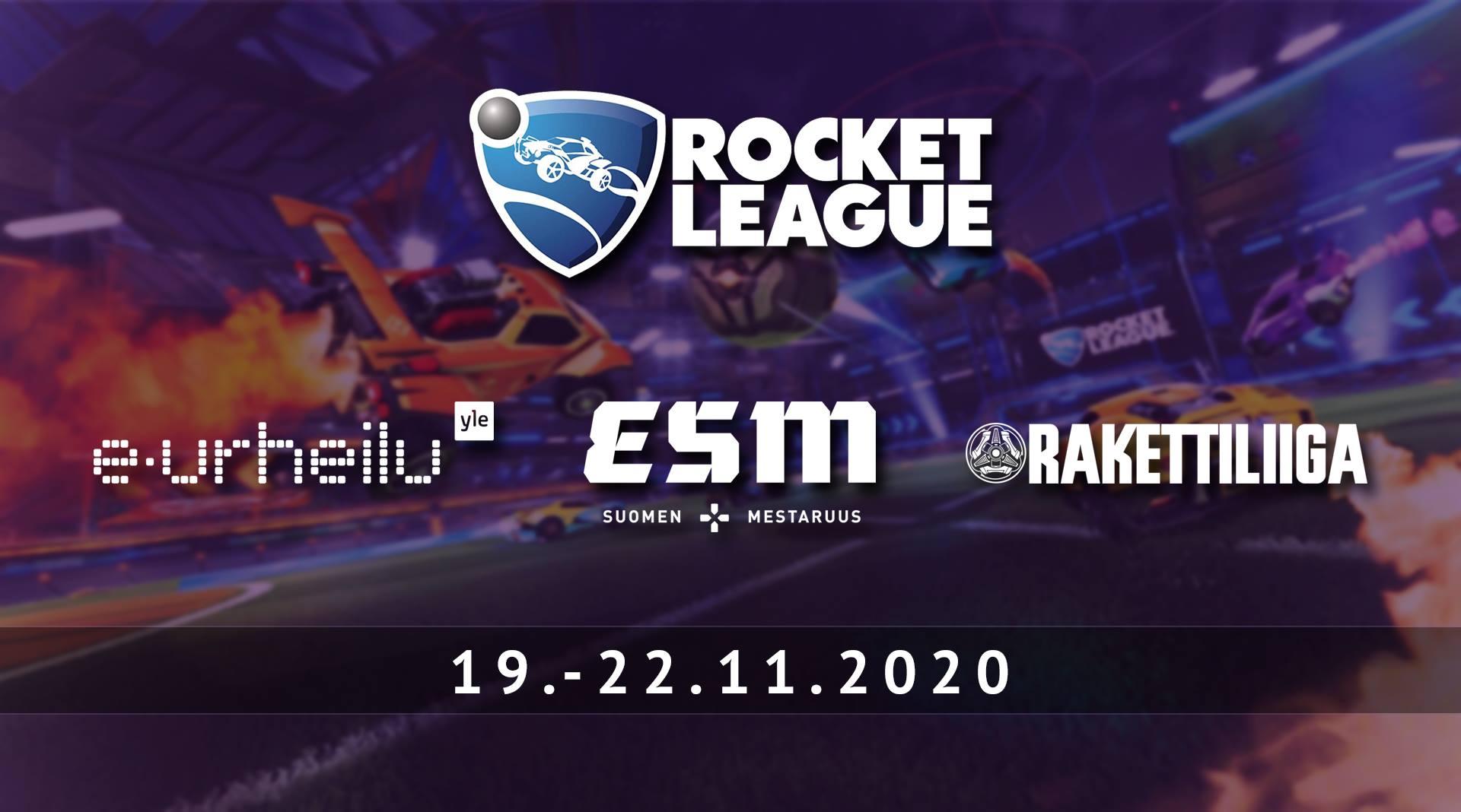 Rocket Leaguen eSM on täällä taas! – Seuraa lähetyksiä Yle Areenasta ja Twitchistä 19.11.–22.11.